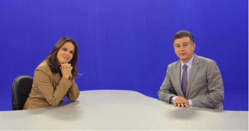Sonia Racy e Claudio Lottenberg