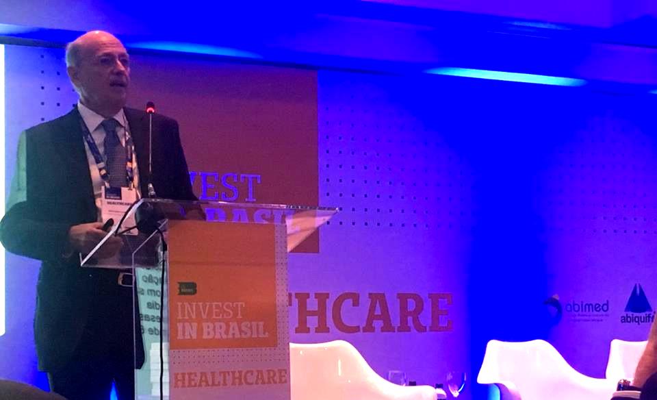 O Vice-Presidente do Instituto Coalizão Saúde (Giovanni Guido Cerri